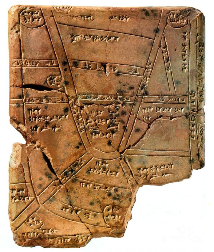 sumerian-map-clay-cuneiform-tablet-science-source